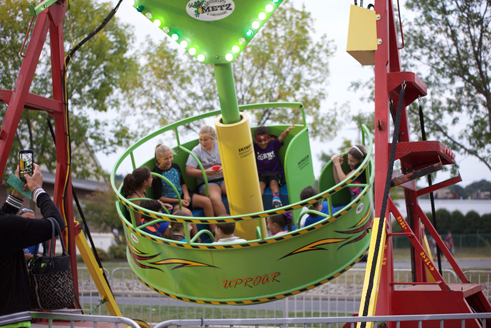 Amusment Rides at Forks Community Days