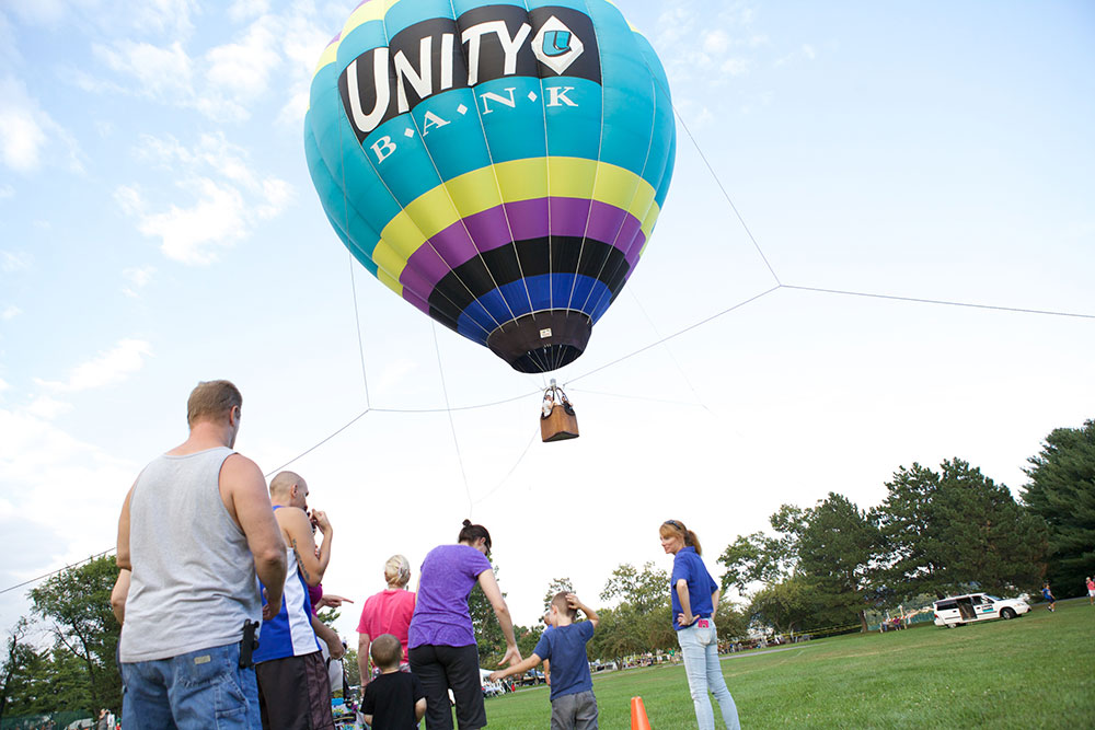 Forks Community Days Free Hot Air Balloon Rides